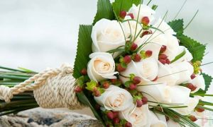 Что символизируют белые розы